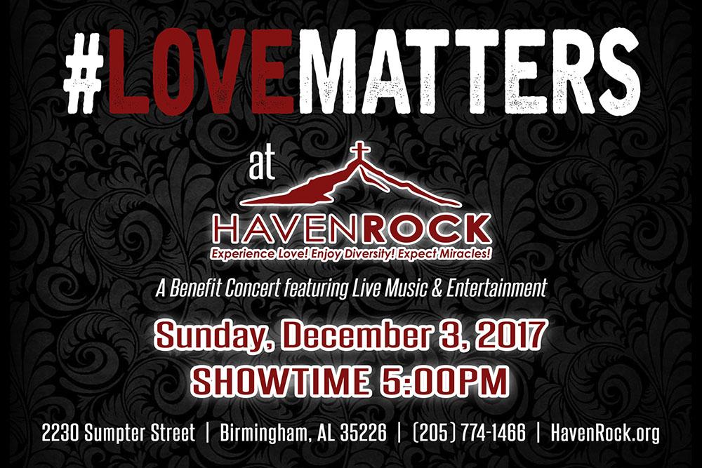 HavenRock Benefit Concert 2017 – #LoveMatters