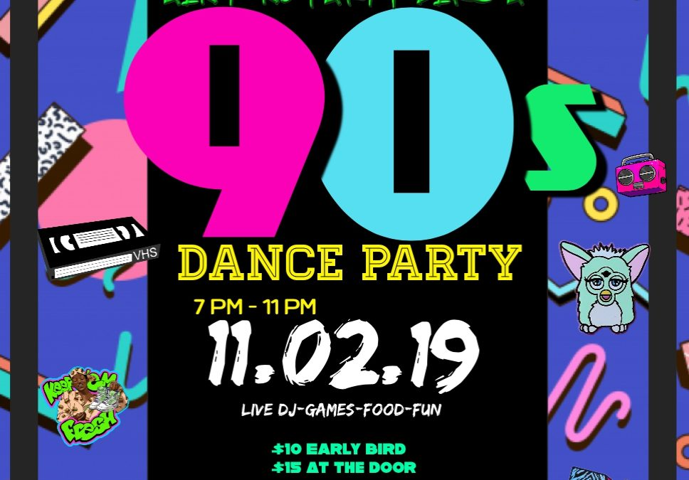 Birmingham is Hosting Their First 90's Party!