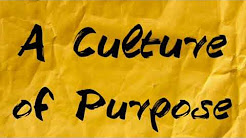Culture of Purpose